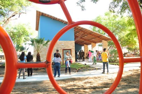 Solenidade de entrega da revitalização do Parque Ecológico Maurício de Oliveira. Carlos Costa (9)