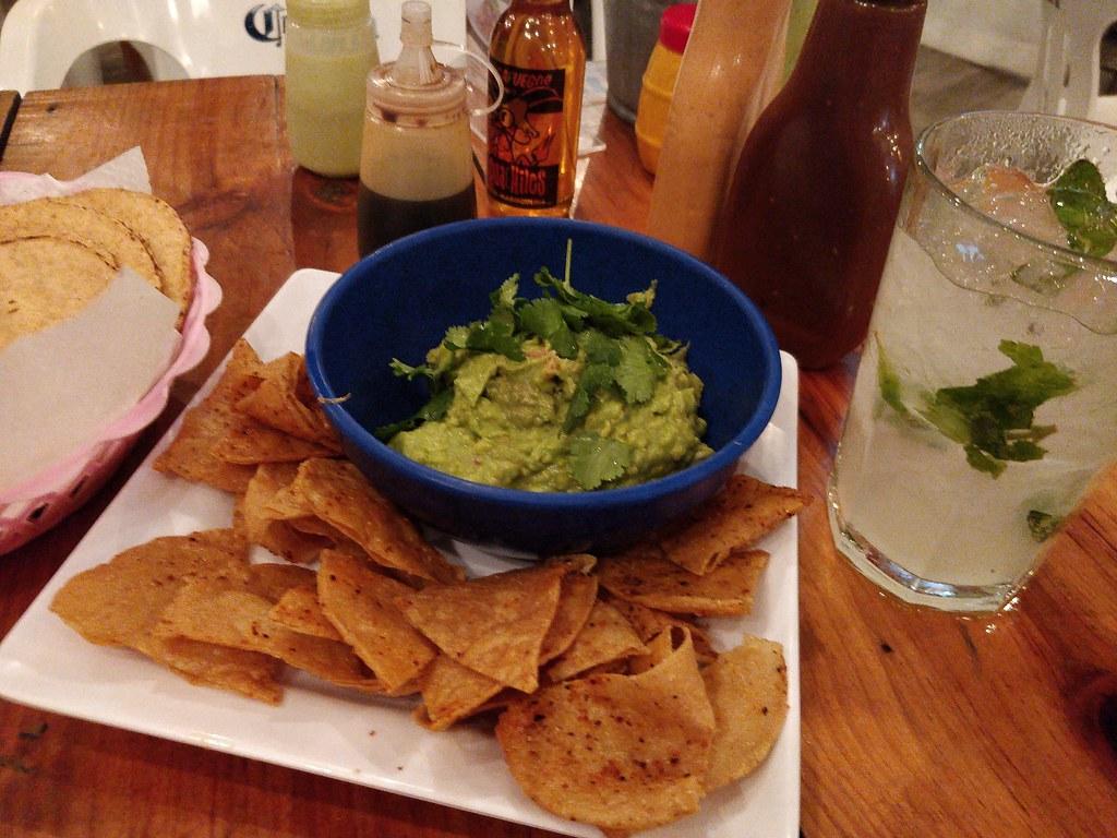 Guacamole at Los Aguachiles