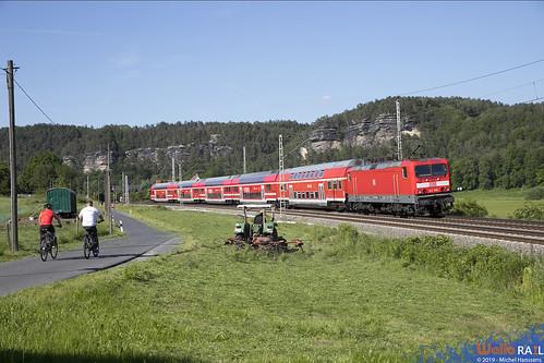 143 919 . DB Regio . S1 . Kurort Rathen . 30.05.19.