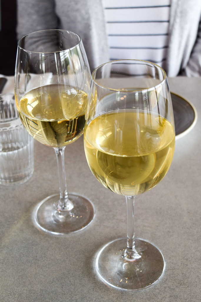 Italian White Wine at Appleton's, Cornwall