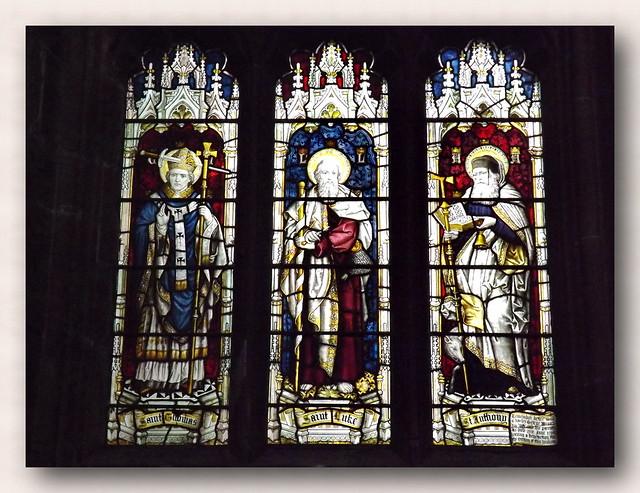 Art from  ST. Mary's church.......Nottingham....UK.