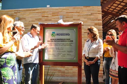 Solenidade de entrega da revitalização do Parque Ecológico Maurício de Oliveira. Carlos Costa (93)