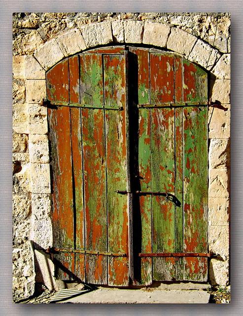 The door from Dhrousha village....Paphos....Cyprus