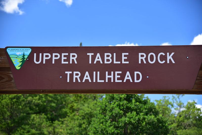 Upper Table Rock Trailhead