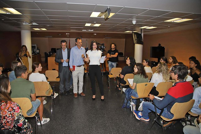 Juicio ficticio del alumnado de Bachillerato dentro del programa 'Educando en Justicia Igualitaria' 06-06-19