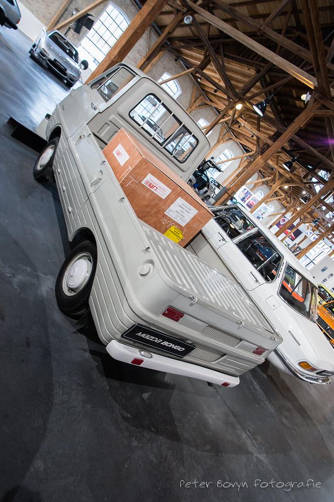 Mazda Bongo - 1966   1966 - 1975 782 cc 4 Cylinder 37 PS ...