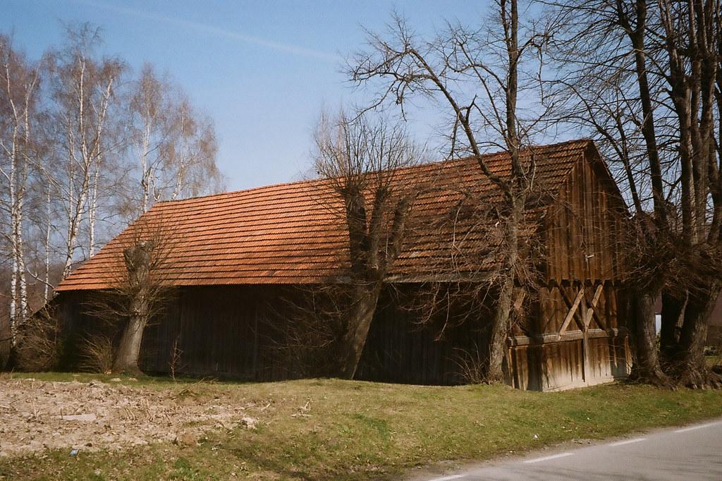 Stodoła w Gorzkowie / Barn in Gorzków