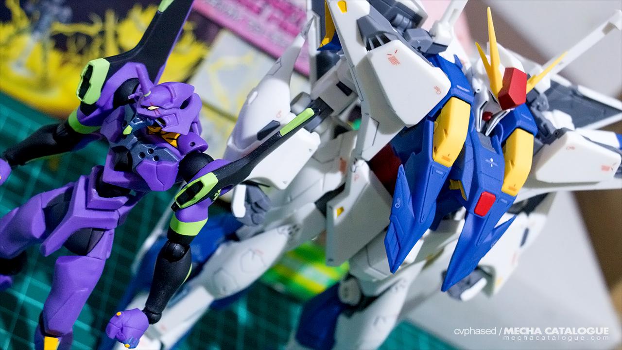 Works-in-Progress: Evangelion 01 ✕ Xi Gundam