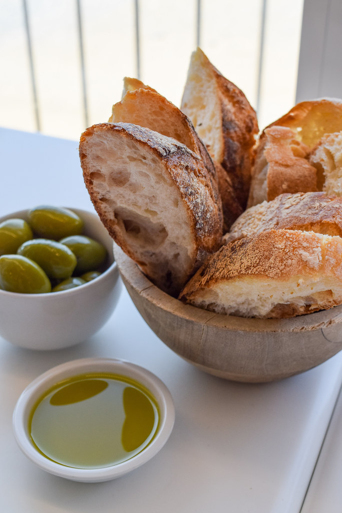 Bread & Olives at Fifteen, Cornwall