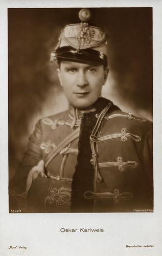 Oskar Karlweis in Der Tanzhusar (1931)