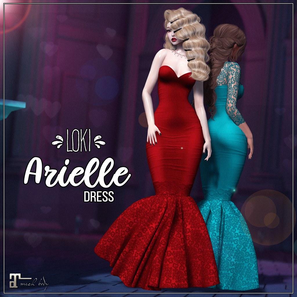 Loki • Arielle Dress • Vintage Fair | June '19 - TeleportHub.com Live!