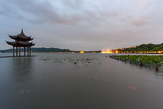 West Lake Dusk by yc4646