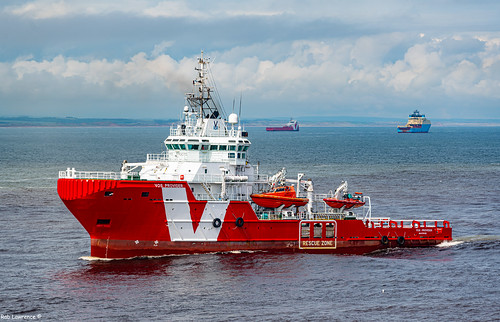 VOS Provider Headed For Aberdeen Harbour 06/06/2019