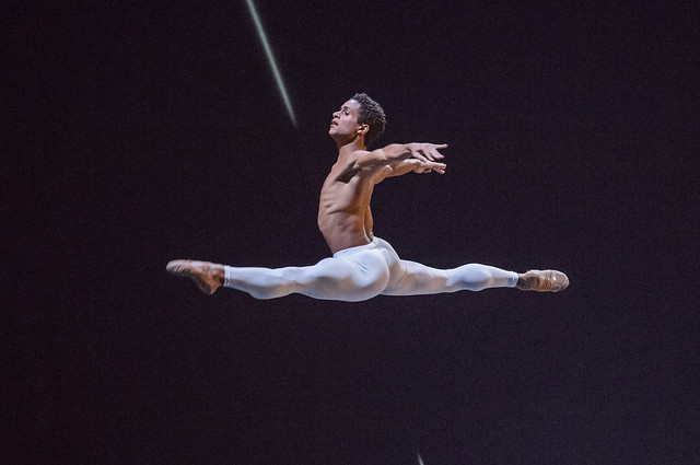 Marcelino Sambé in The Human Seasons © ROH 2017. Photograph by Tristram Kenton