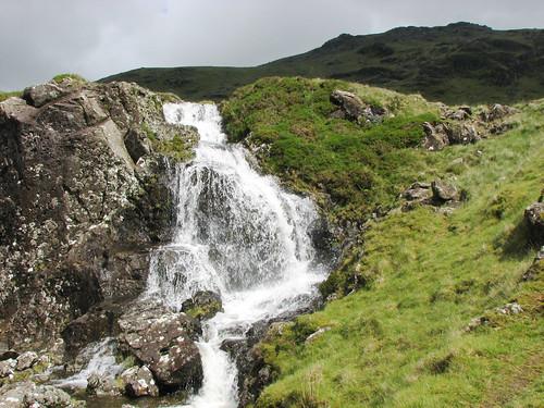 Waterfall, Moel yr Ogof