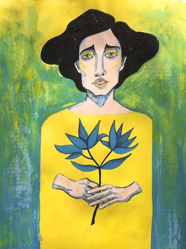 41 - Yellow & Turquoise