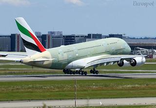 F-WWSD Airbus A380 Emirates