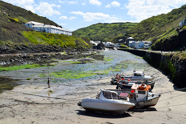 Boscastle Harbour, North Cornwall