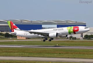 F-WWCL Airbus A330 Neo Air Portugal