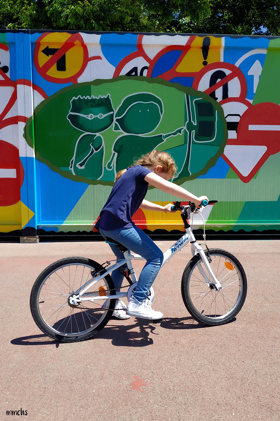 montar en bici sin ruedines