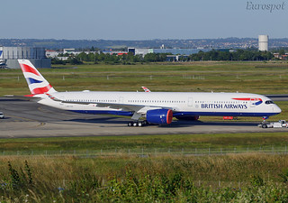 F-WZFH Airbus A350-1000 British Airways