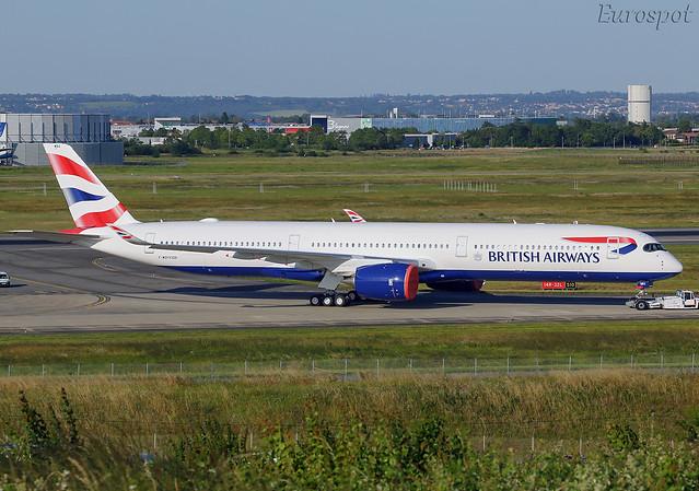 F-WZFH Airbus A350-1000 British Airways