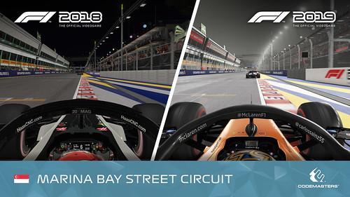 F1 2019 Singapore comparison 1