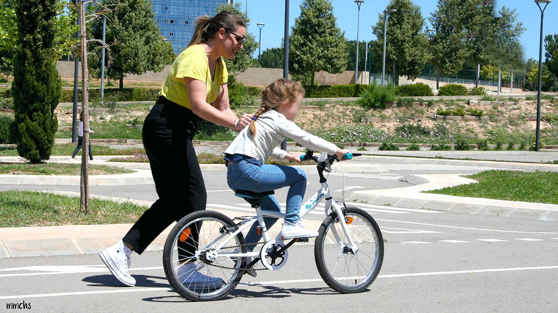 aprender a montar en bici sin ruedines