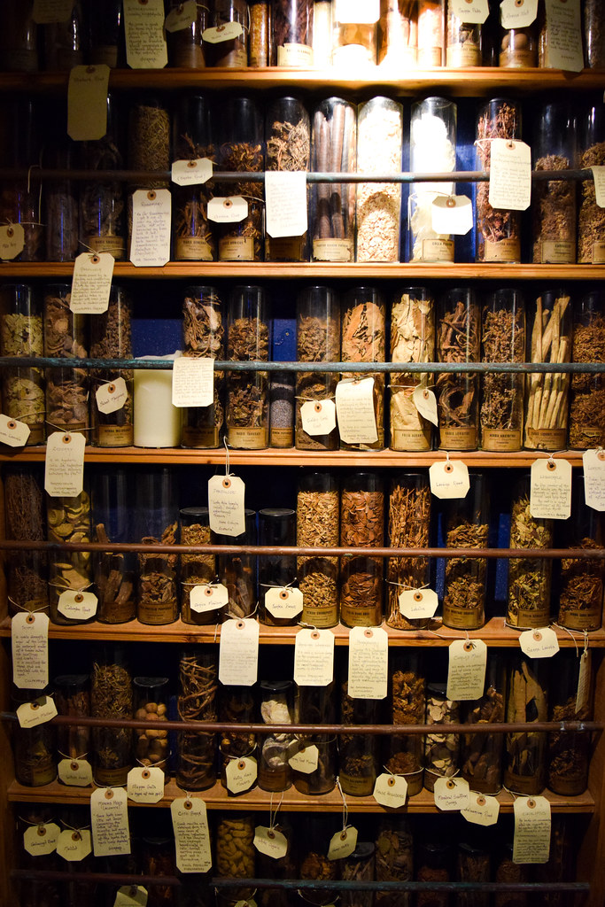Apothecary at Museum of Witchcraft and Magic, Boscastle