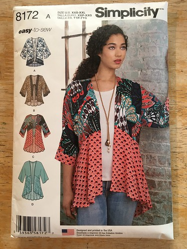 A Spring Jacket in Linen:  Simplicity 8172 | by patternandbranch