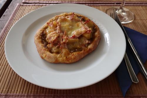 Kleine Pizza Hawai