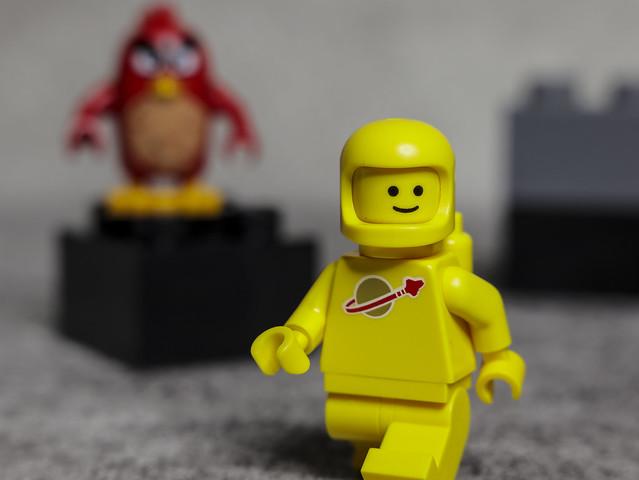 Yellow suit Benny in a galaxy far, far away