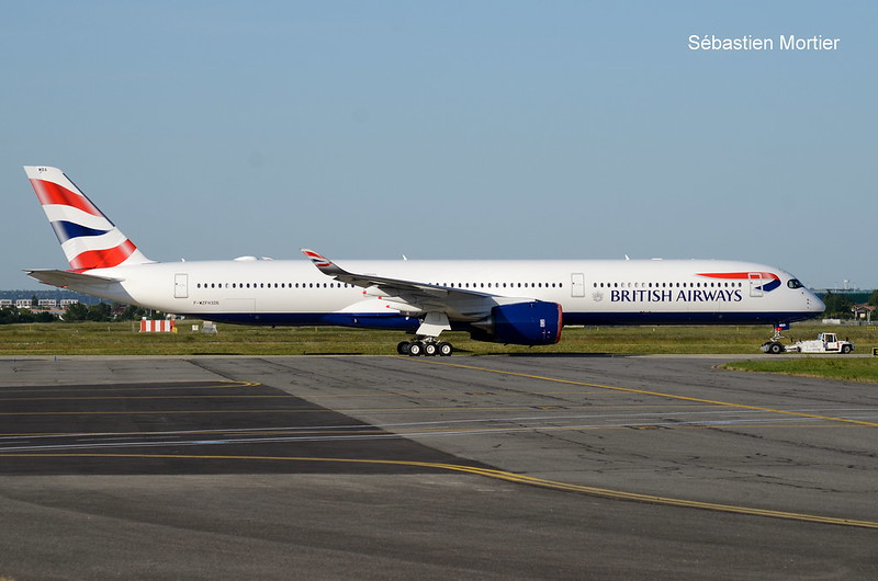 350.1041 BRITISH AIRWAYS F-WZFH 326 TO G-XWBA 06 06 19 TLS