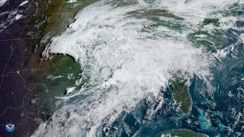Tropical Moisture Inundates Gulf Coast