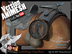 SaddleBags Orpailleur-animesh