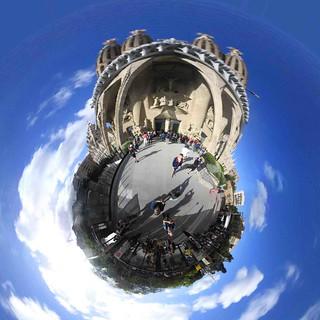 Barcelone, 360, Sagrada Familia, 6