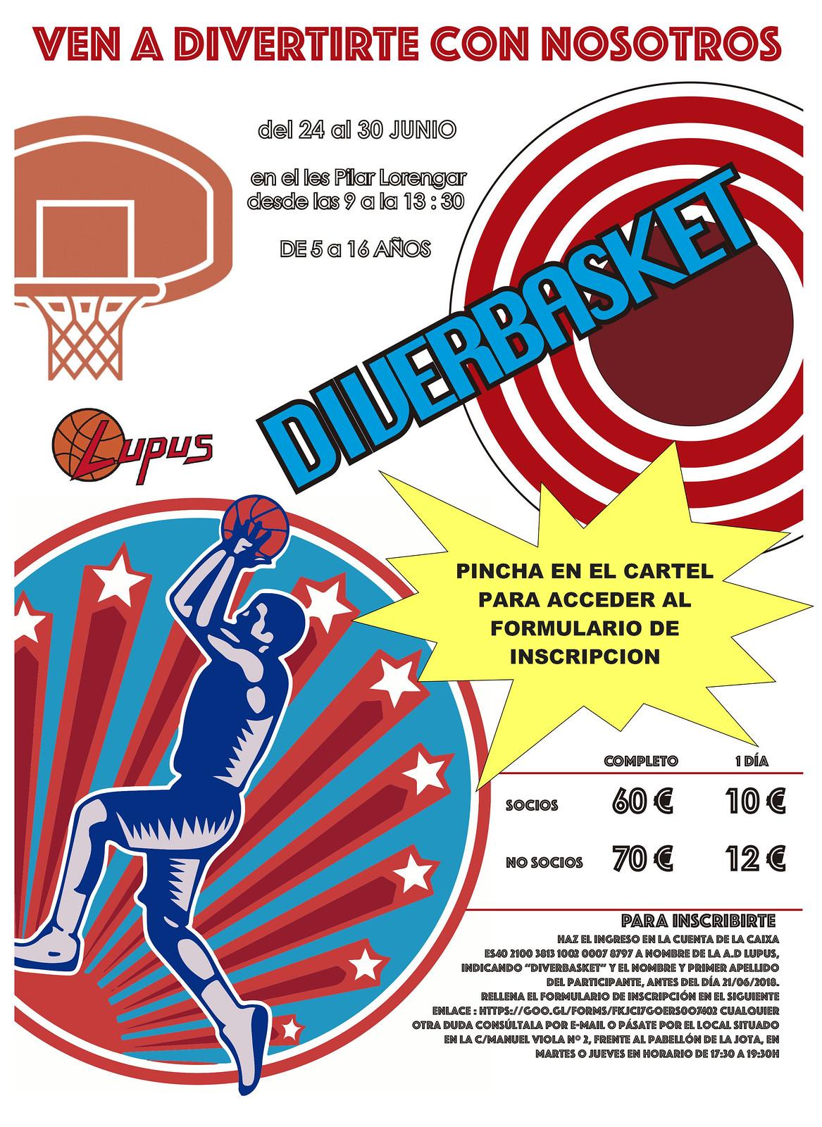 Diverbasket 2019 verano