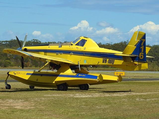 VH-IWU AIR TRACTOR AT-802 at Port Macquarie NSW