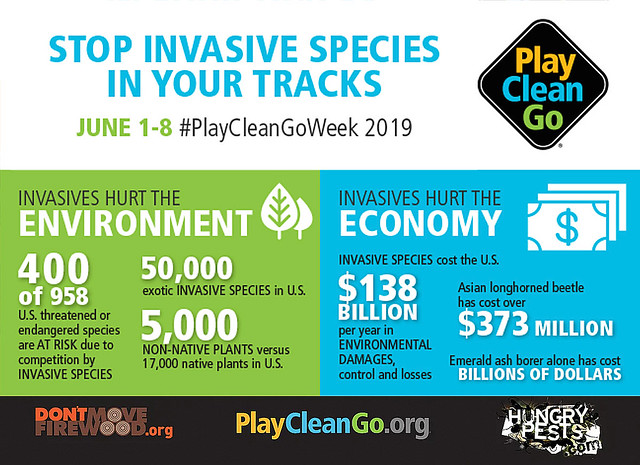 PlayCleanGo Awareness Week infographic
