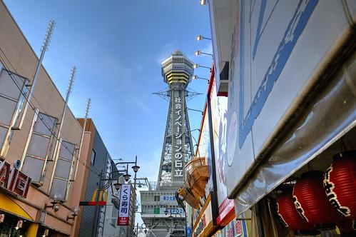 06-06-2019 Tsutenkaku-Tower, Osaka (1)