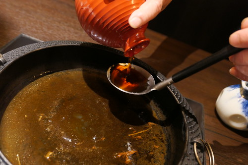 料理長こだわりの朝採卵で作る すき焼き→飯田流卵とじ丼 すき焼き 飯田 33