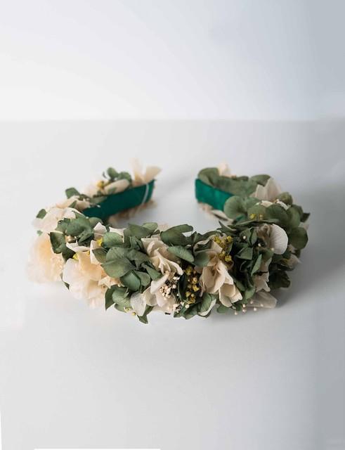 Diadema hortensia preservada