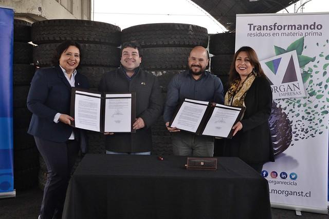 Acuerdo para Reciclaje de Neumáticos