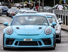 Porsche GT3RS and my Boxster