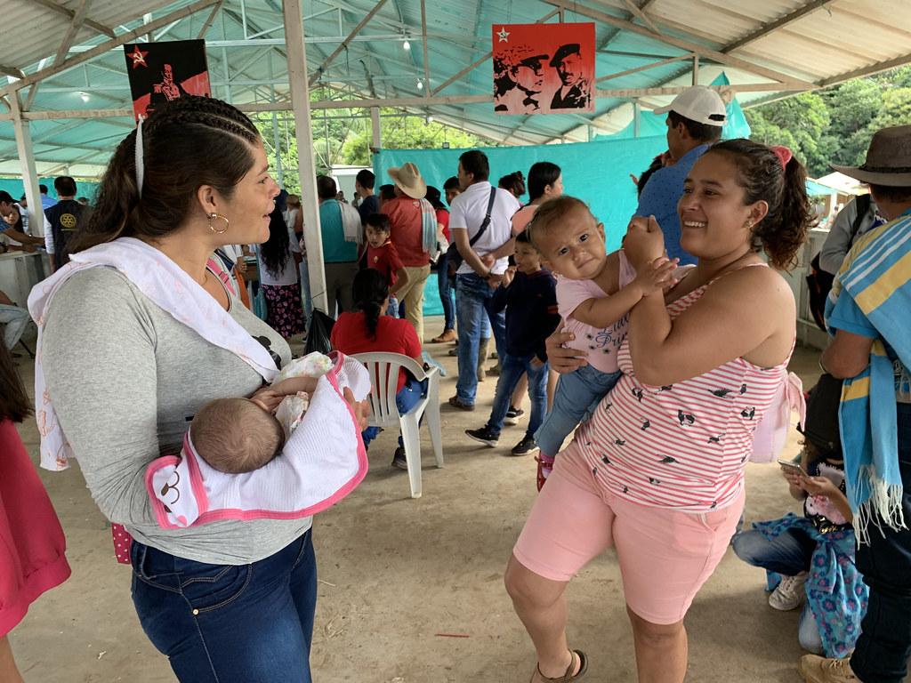 Brigada de Salud en el ETCR Colinas, Guaviare. Junio 1 y 2 /2019
