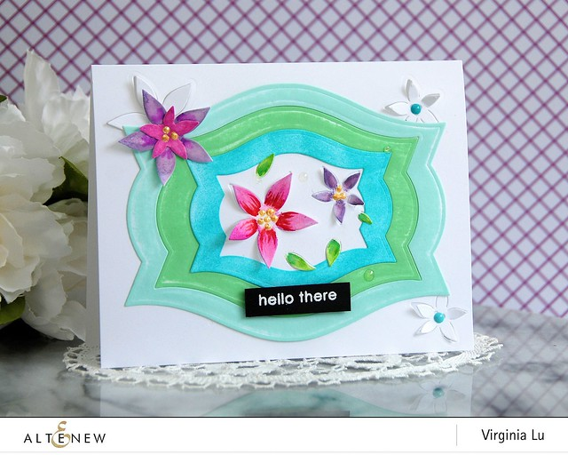 Altenew-NestingLabelDies-StarFlowers PopUp Die-Virginia#1
