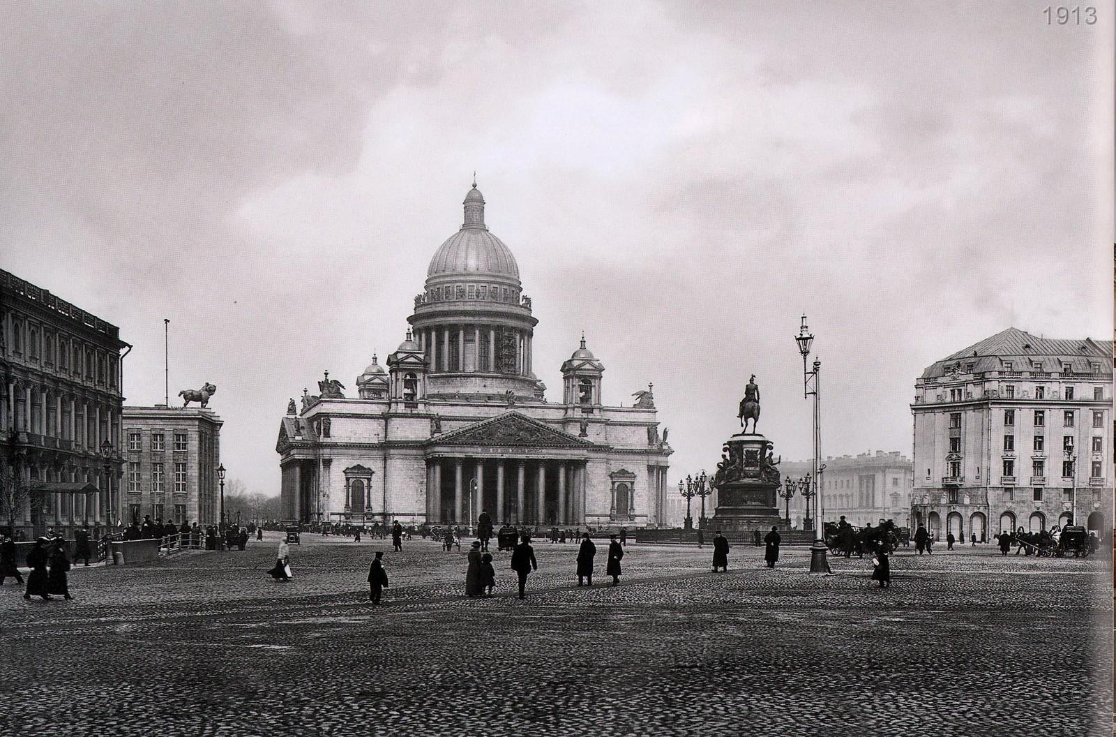 Исаакиевская площадь, Астория, Памятник Николаю I