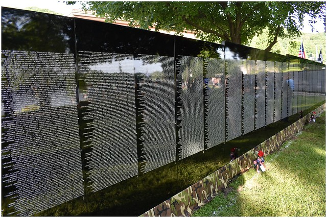 Vietnam Moving Wall Memorial series of photos @ Kittanning, PA