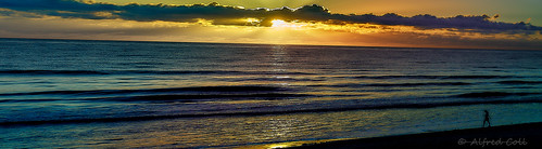 sonye1850 prime sunrise beach colors warm crepuscular panoramic golden atlantic seashore florida melbourne