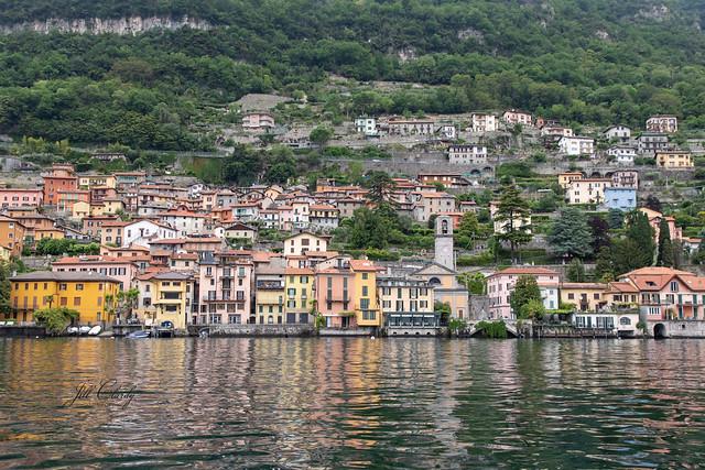 On The Shores of Lake Como, Italy